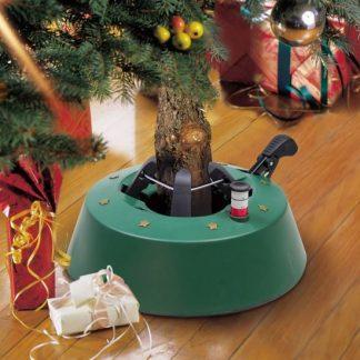 kerstboom standaard tot drie meter met staalkabel en voetpedaal