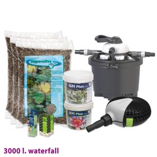 velda vijverstartpakket waterval tot 3000 liter