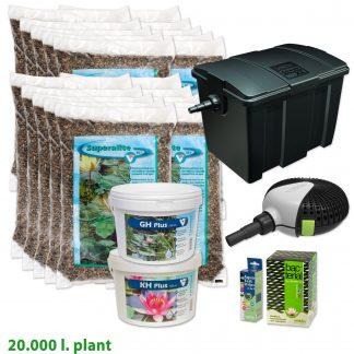 Vijverstartpakket planten tot 20.000 liter