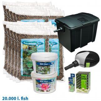 Vijverstartpakket vissen tot 20.000 liter